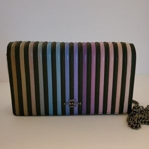 Coach Ombre Quilted Clutch